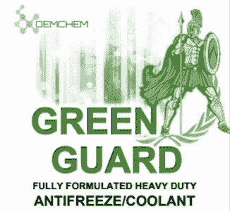 green antifreeze coolant jugs