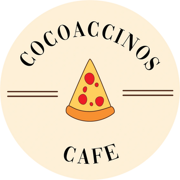 Logo for Cocoaccinos Cafe, our sister restaurant