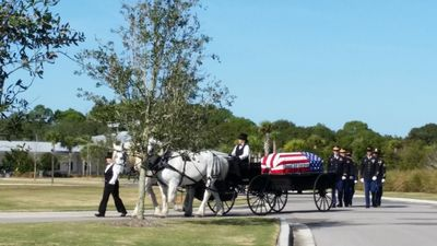 Funeral Service at Sarasota National Cemetery