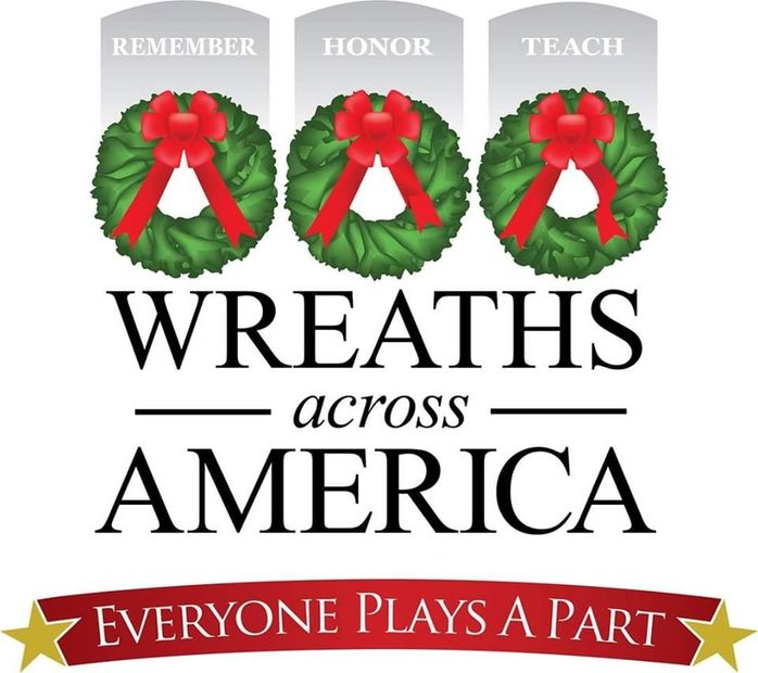 EVERYONE PLAYS A PART WREATHS ACROSS AMERICA
