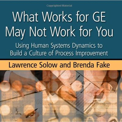 Book about Human Systems Dynamics to Build a Culture of Process Improvement