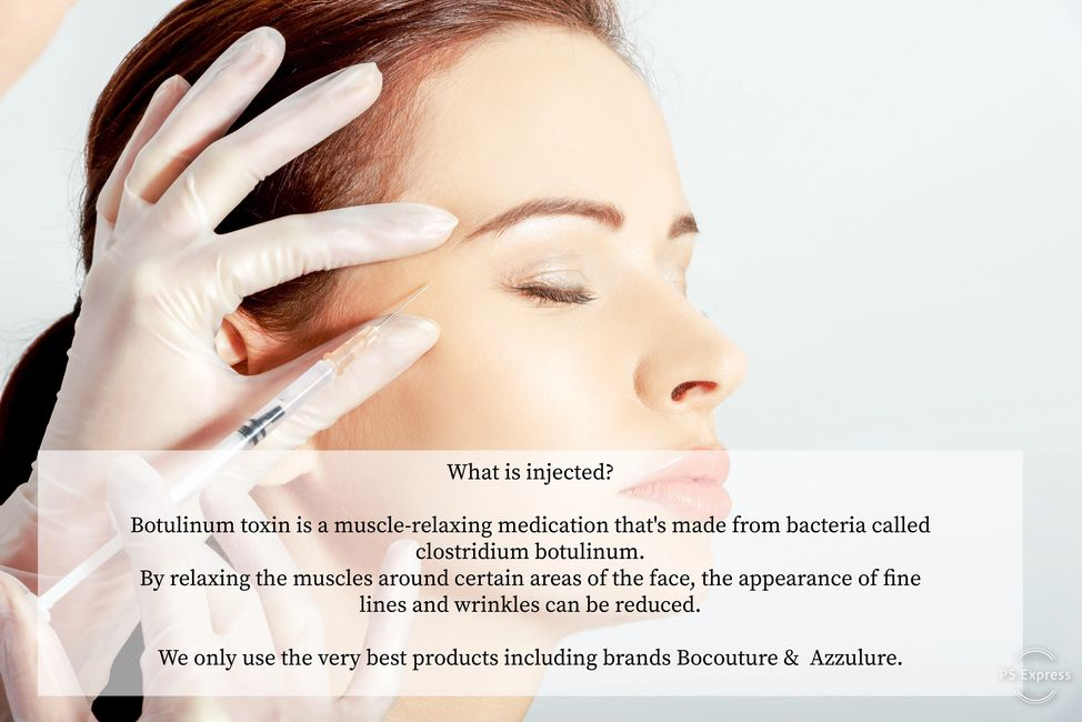 BOTOX Wrinkle Relaxation by Tom May at INKonHair Clinic Bristol & Harley Street London 2002
