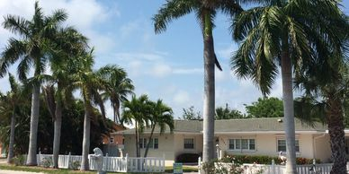 Mid Island location situated on 3 subdividable lots.