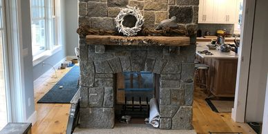 Dante Ravelli Masonry of Midcoast Maine fireplaces