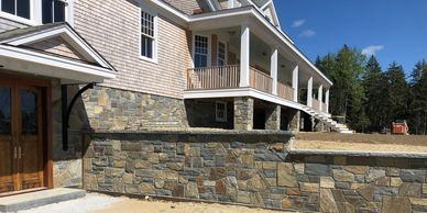 Dante Ravelli Masonry of Midcoast Maine stone walls
