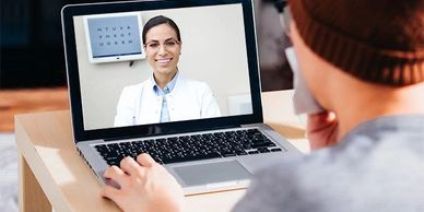 Virtual doctor, Telehealth, Eye Doctor, Optometrist