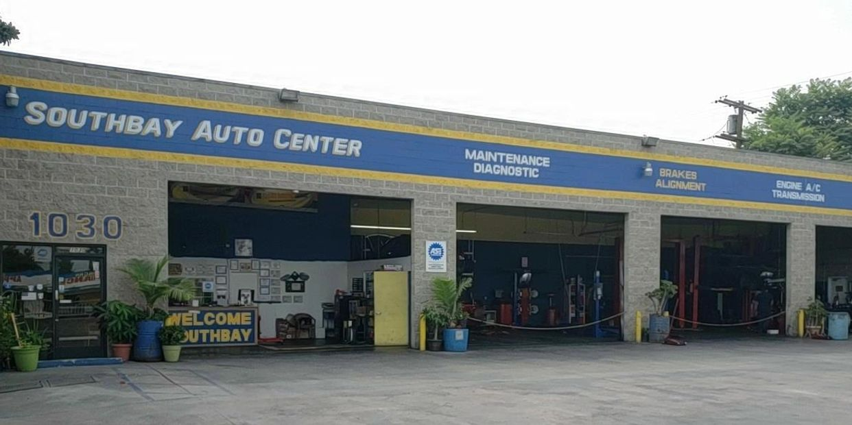 Southbay Auto Center Store Front with four Bay doors   1030 east Artesia Blvd Long Beach ca 90805