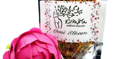 Yoni steam, with rose petals, Calendula, rosemary and natural herbs