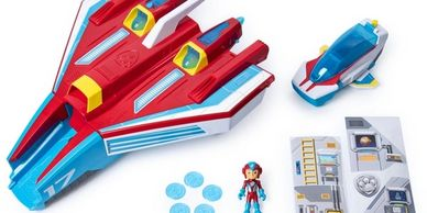 PAW Patrol Super PAWs Mighty Jet Command Centre