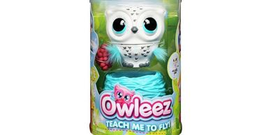Teach this Owleez flying baby owl to take flight for fun interactive play