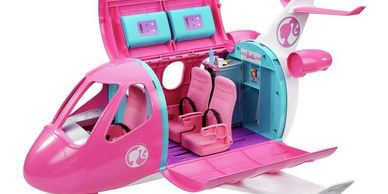 The Barbie Dreamplane is ready to help imaginations take off to anywhere!