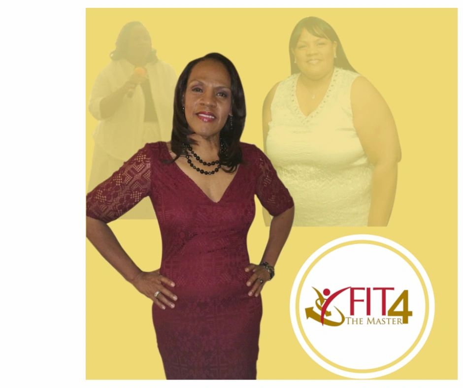 Picture of Shela after she loss over 100 pounds.