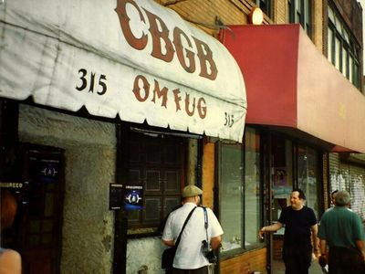 Vinnie Wartlip Retrospective. CBGB's Gallery - 2001. Group Exhibition May 23 - Jun 23,2001.
