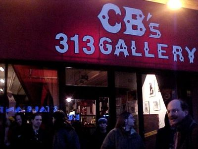 Back to the Bowery - CBGB's Gallery - New York - 2005. Group Exhibition ​March 9 - April 8, 2005.