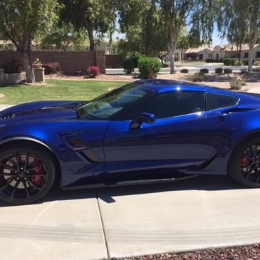 Corvette tint 20% and 5%