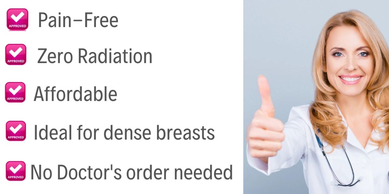 tope reasons why breast ultrasound is good for you