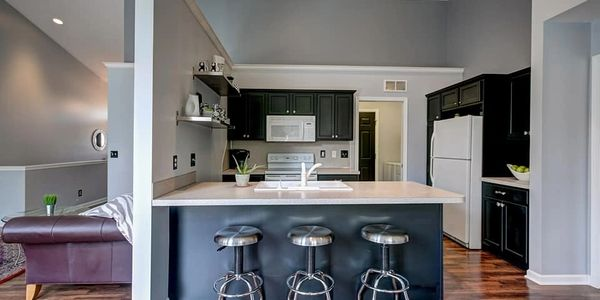 Kitchen cabinet painting and interior painting