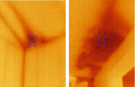 Thermal Imaging helps find hidden moisture