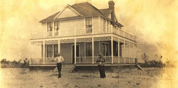 The original house was built in 1897.