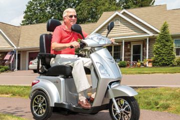 Rent a scooter in new York or New Jersey. Renting a scooter easy just call us now 856-313-2075