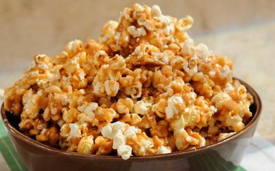 Easy spiced popcorn