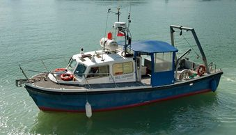 bill Conway Southampton university survey, scientific research vessel charter survey boat Falmouth
