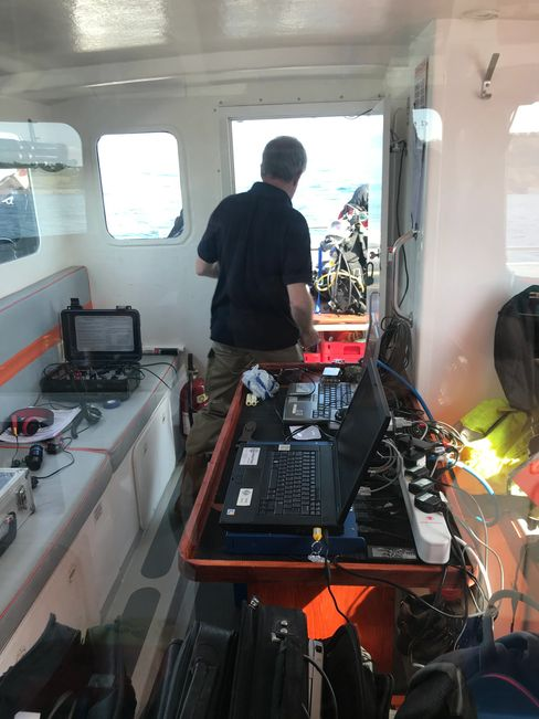 commercial, media, survey, crew transfer all undertaken onboard seawatch, Falmouth Cornwall charter