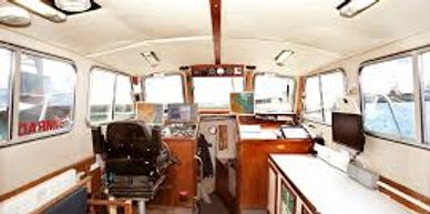 bill Conway survey, scientific research charter boat Falmouth Cornwall ready to commercially charter