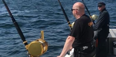 Tuna fishing, shark fishing, big game fishing from Falmouth Cornwall onboard seawatch Mylor