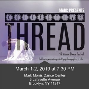 On March 2nd REDi Dance Co. presents No Haven at Mark Morris Dance Center for Collective Thread 2019