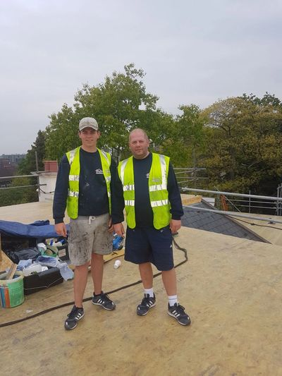 FAMILY ROOFING CONTRACTORS IN SURBITON CARRYING OUT  ROOFING AND ROOF  REPAIRS IN SURBITON KT5 KT6