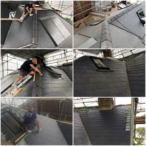 ALL NEW ROOFS COME WITH INSURANCE BACKED GUARANTEES. NEW SLATE ROOFS, NEW TILED ROOFS.