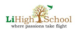 LiHigh School logo where passions take flight. Tree with bird.