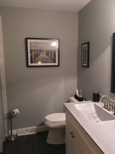 Bathroom paint job. Hayden painters.