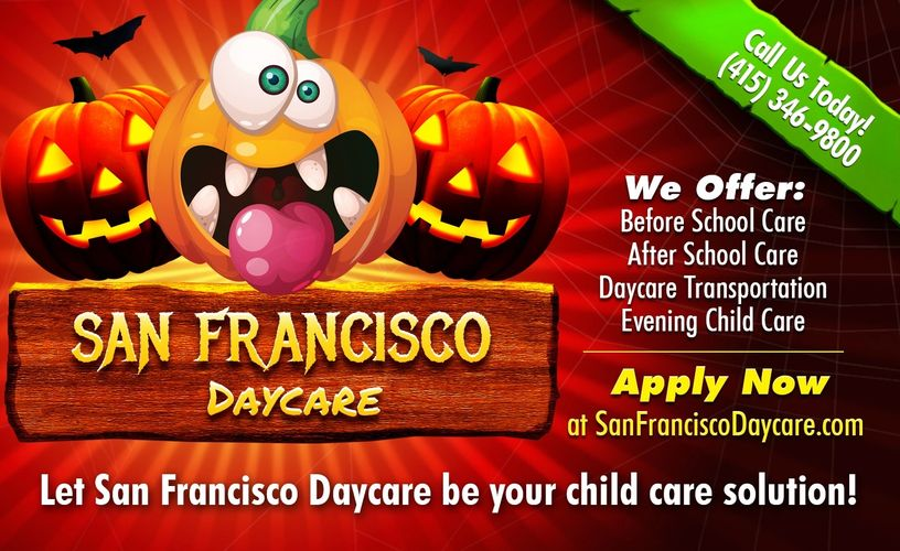 Daycares in San Francisco - Happy Halloween