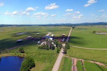 3777 +/- Acre Hopper Ranch in McAlester, OK sold by Southwest Ranch & Farm Sales.