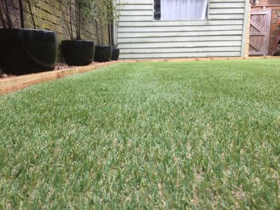 Artificial lawn, eastbourne, east sussex, fake turf, fake lawn, artificial lawn installation