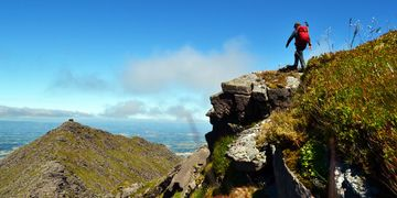 KMH Guided walks to Carrauntoohil and The MacGillycuddy's Reeks Killarney County Kerry Ireland
