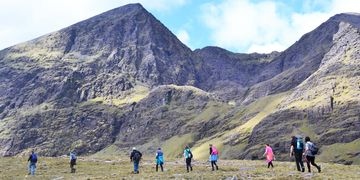 Guided to Carrauntoohil from Cronin's Yard with Killarney Mindful Hiking