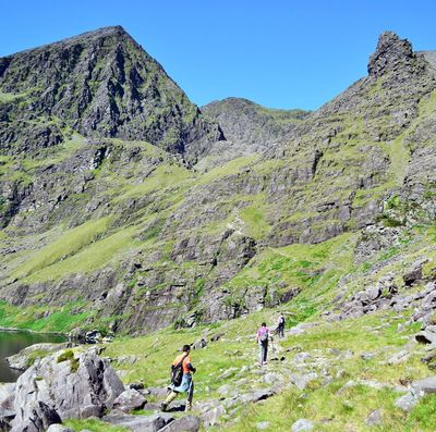 Guided Ascent to Carrauntoohil via Heaven's Gate