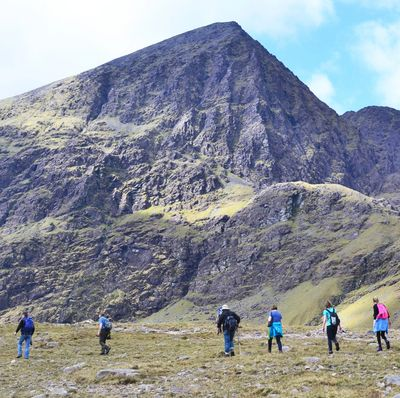 Guided walk to Carrauntoohil via The Hag's Glen