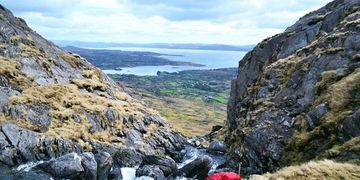 Caha Mountains Hungry Hill Adrigole Sugar Loaf Beara Way KMH Hiking Tours in West Cork Ireland
