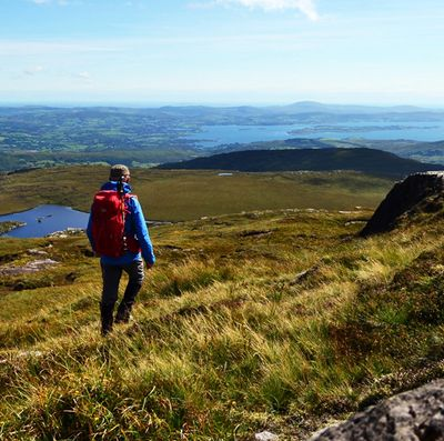 Knockboy Mountain in Beara Peninsula