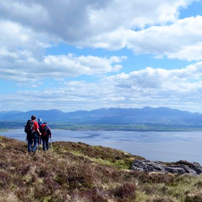 Guided Walks in Dingle Peninsula: Mount Brandon, Beenoskee, Caherconree.