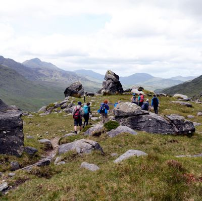 Hiking The Kerry Way in The Black Valley