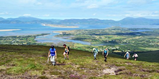 Glenbeigh Mountains Hiking in County Kerry Ireland's Wild Atlantic Way with Killarney Mindful Hiking