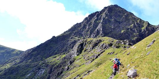 Guided Ascents to Carrauntoohil from Cronin's Yard with KMH