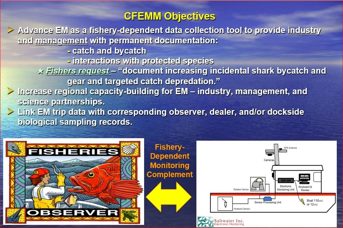 Observers and Electronic Monitoring are A large part of sustainably managing our nation's fisheries.