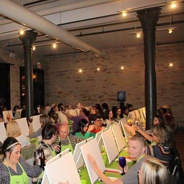 The Art of Live events, in Grand Rapids Michigan, Studio space