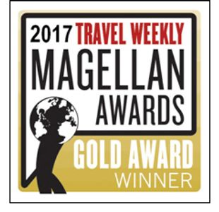 2017 Magellan Gold Award winner for Food and Wine Travel and Cilinary Travel Groups